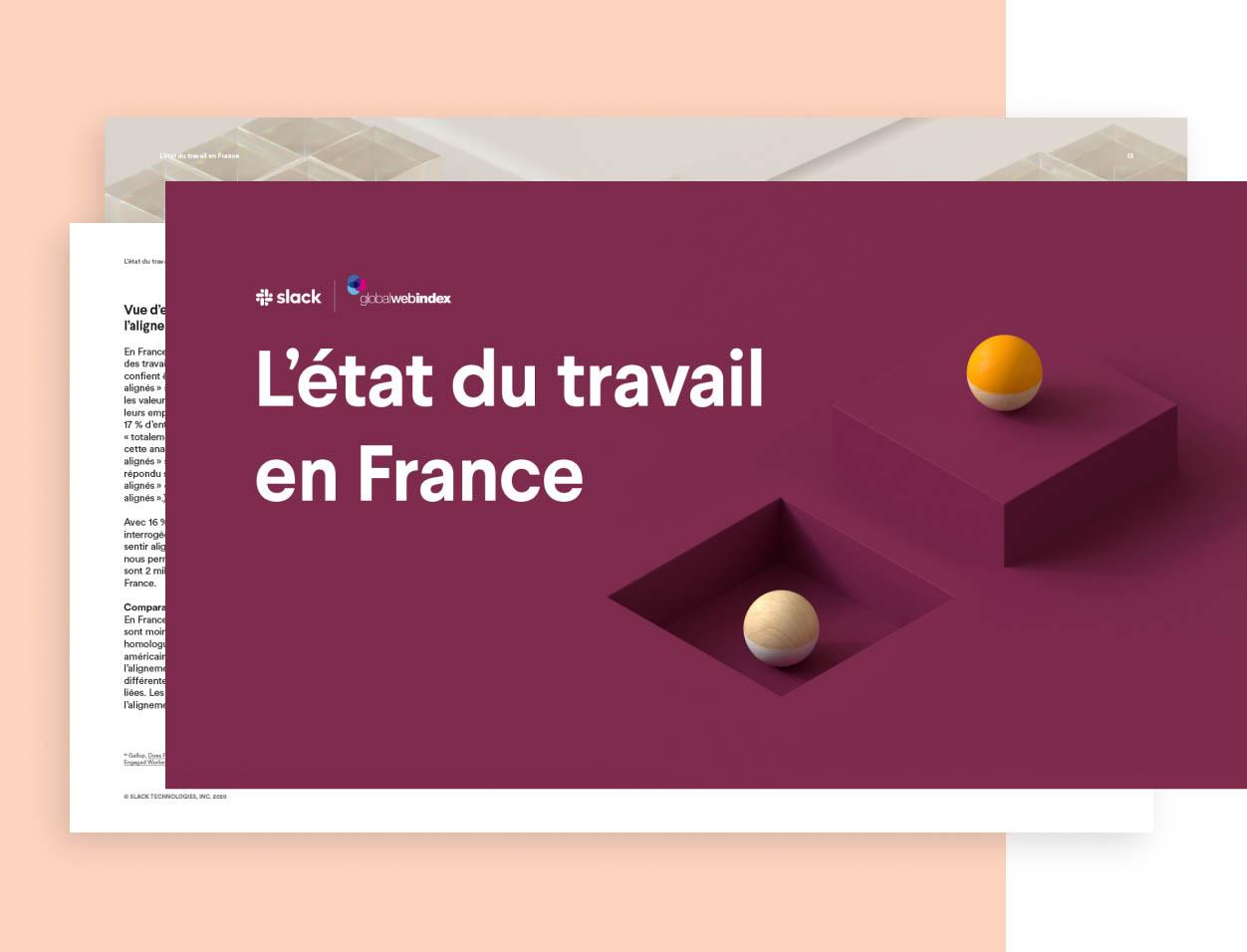 L'état du travail en France