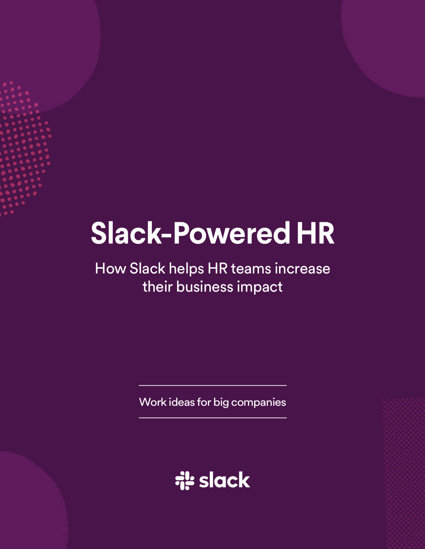 Slack-Powered Human Resources E-Book