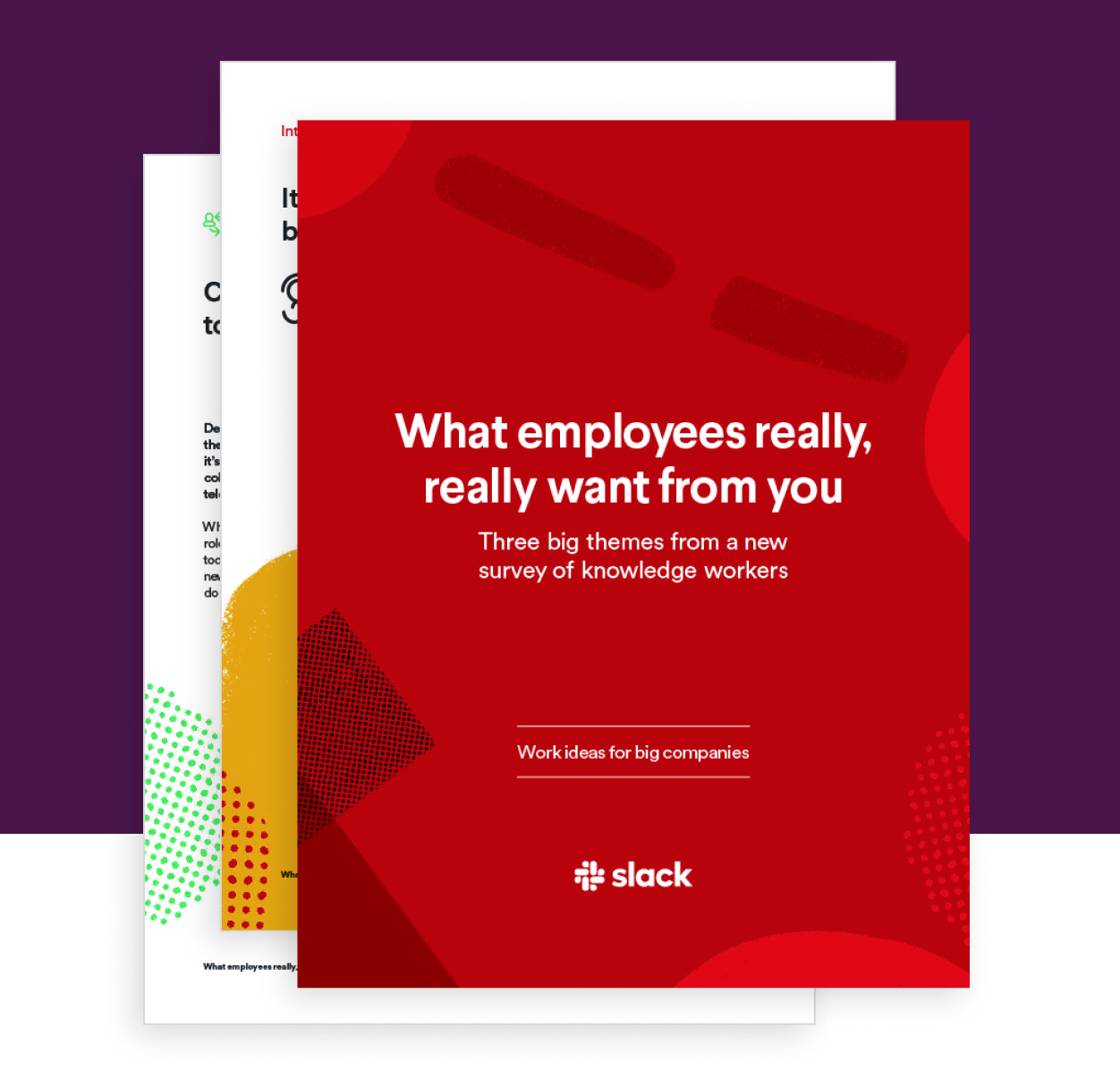 What employees really, really want from you E-Book