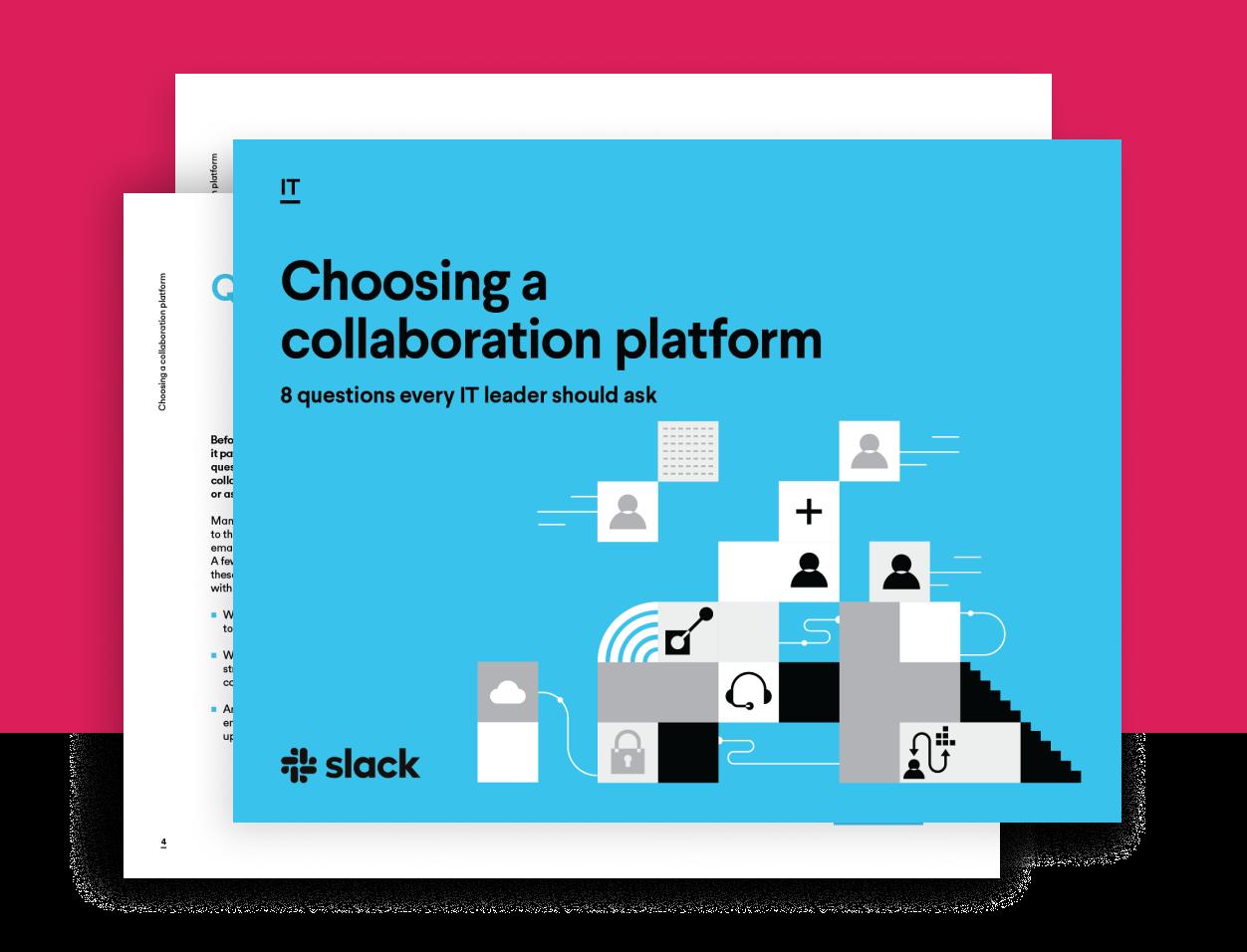 Choosing a collaboration platform e-Book