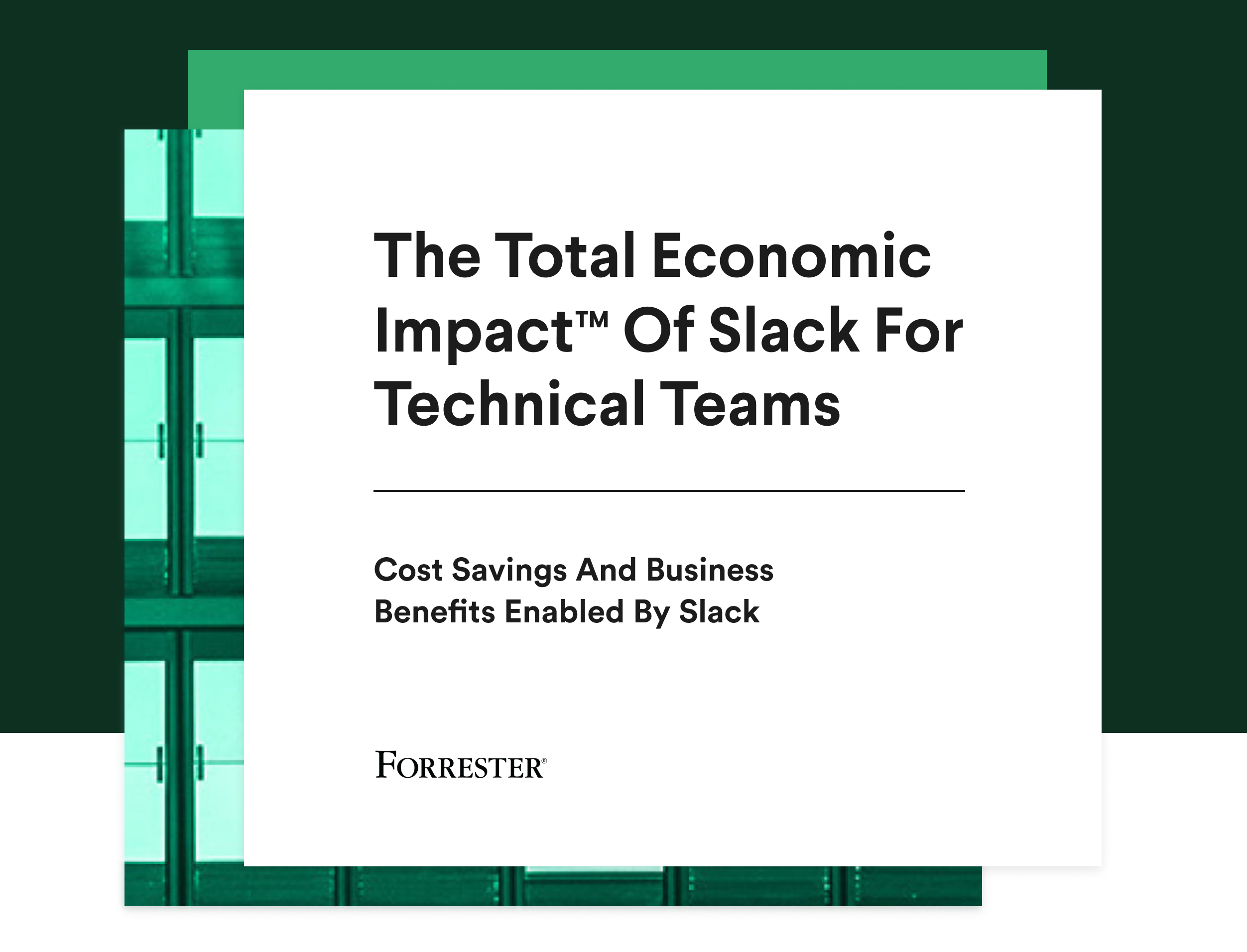 Cover of The Total Economic Impact Of Slack For Technical Teams